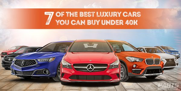 Best Luxury Cars to Buy Under 40K